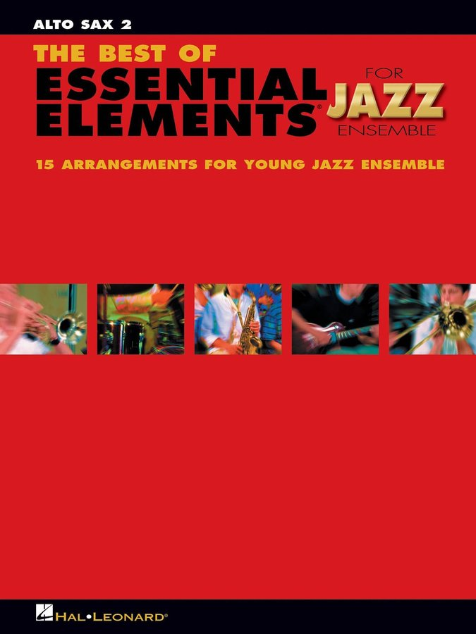 View larger image of The Best of Essential Elements for Jazz Ensemble - Alto Sax 2