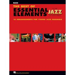 The Best of Essential Elements for Jazz Ensemble - Bass