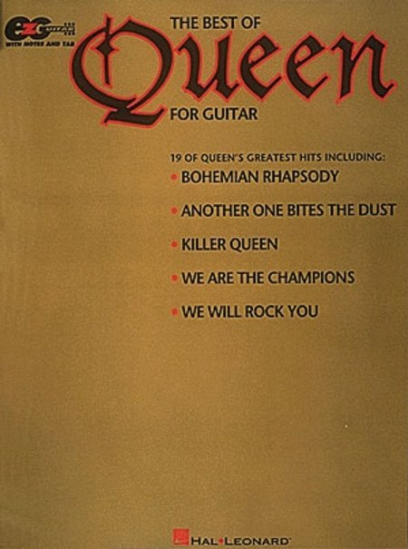 View larger image of The Best of Queen for Easy Guitar