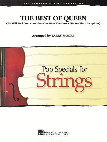 View larger image of The Best of Queen - Score & Parts, Grade 3