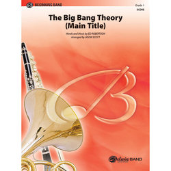 The Big Bang Theory (Main Title) - Score & Parts, Grade 1