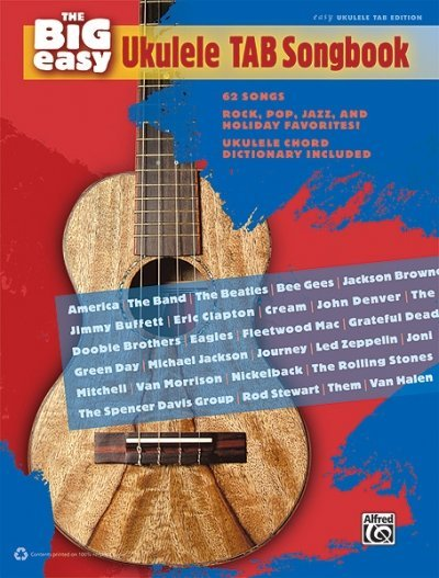View larger image of The Big Easy Ukulele TAB Songbook