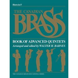The Canadian Brass Book of Advanced Quintets - F Horn