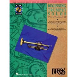 The Canadian Brass Book of Beginning Trumpet Solos w/CD