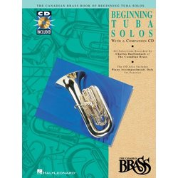 The Canadian Brass Book of Beginning Tuba Solos w/CD
