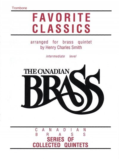 View larger image of The Canadian Brass Book of Favourite Classics - Trombone