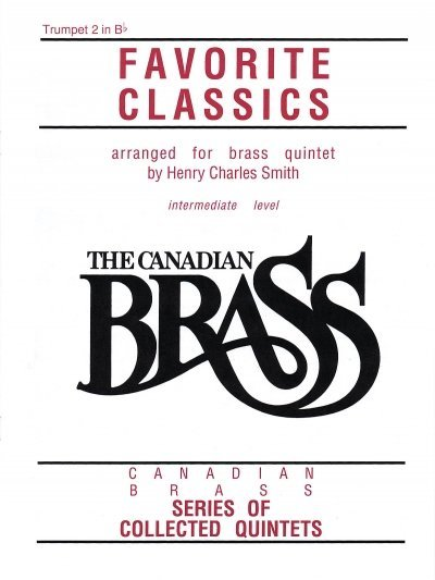 View larger image of The Canadian Brass Book of Favourite Classics - Trumpet 2