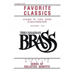 The Canadian Brass Book of Favourite Classics - Trumpet 2