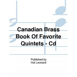 The Canadian Brass Book of Favourite Quintets - CD