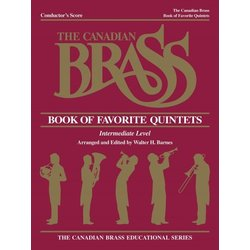 The Canadian Brass Book of Favourite Quintets - Conductor