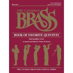 The Canadian Brass Book of Favourite Quintets - F Horn