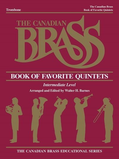 View larger image of The Canadian Brass Book of Favourite Quintets - Trombone