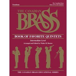 The Canadian Brass Book of Favourite Quintets - Trombone