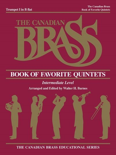 View larger image of The Canadian Brass Book of Favourite Quintets - Trumpet 1