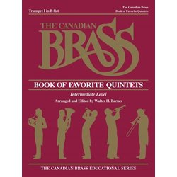 The Canadian Brass Book of Favourite Quintets - Trumpet 1
