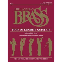 The Canadian Brass Book of Favourite Quintets - Tuba