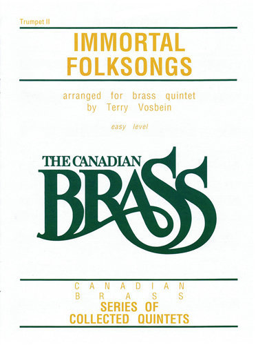 View larger image of The Canadian Brass - Immortal Folk Songs - Trumpet 2