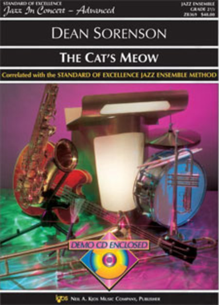 View larger image of The Cat's Meow - Score & Parts, Grade 2.5