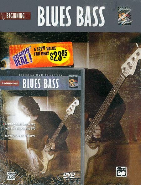 View larger image of The Complete Electric Bass Method: Beginning Blues Bass w/DVD
