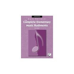 The Complete Elementary Music Rudiments, 2nd Edition: Answer Book