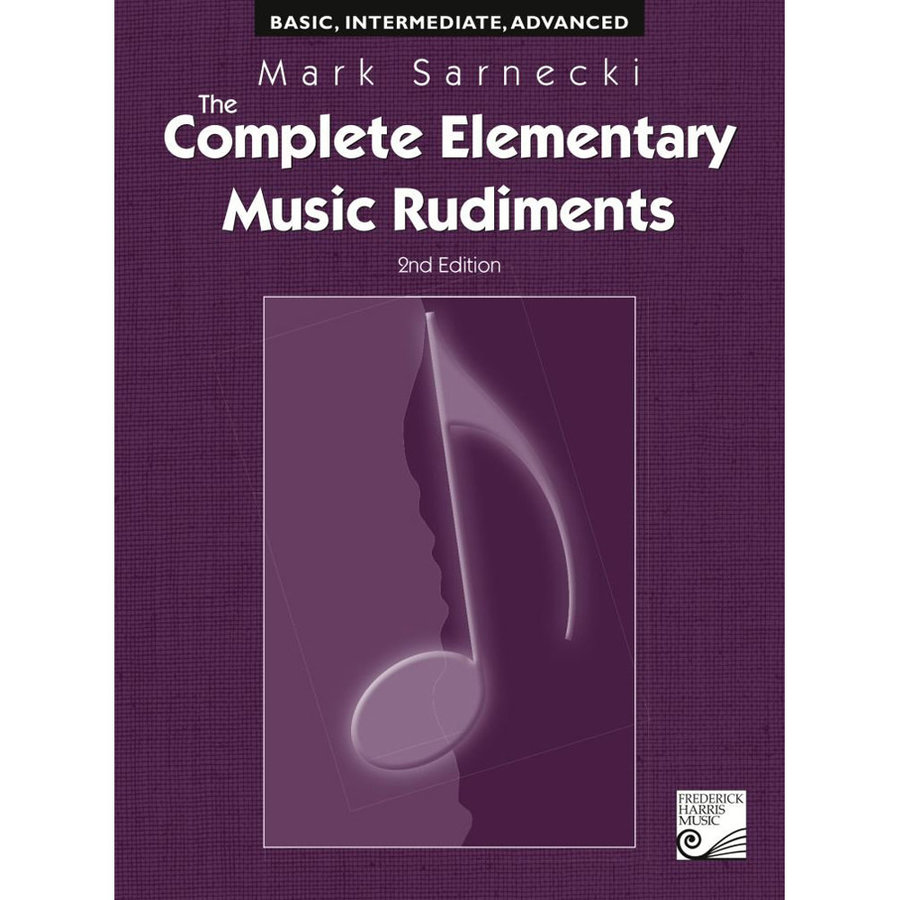 View larger image of The Complete Elementary Music Rudiments, 2nd Edition