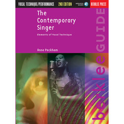 The Contemporary Singer – 2nd Edition w/Online Audio