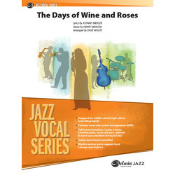 The Days of Wine and Roses - Score & Parts, Grade 3.5