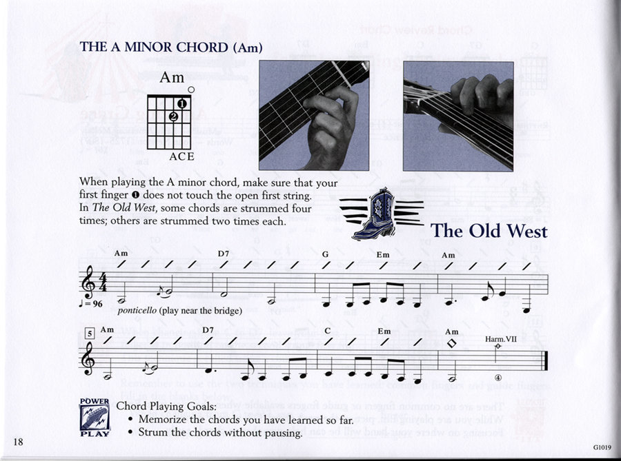 View larger image of The FJH Young Beginner Guitar Method: Exploring Chords Book 1