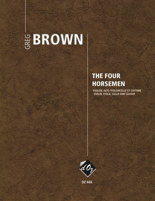 View larger image of The Four Horsemen (Brown) - Guitar & String Trio