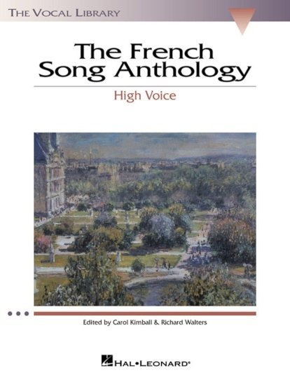 View larger image of The French Song Anthology - High Voice