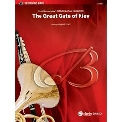 The Great Gate of Kiev (Pictures at an Exhibition) - Score & Parts, Grade 1