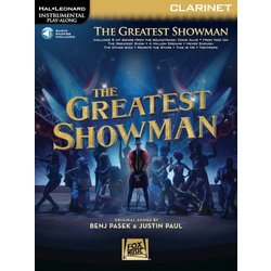 The Greatest Showman - Clarinet w/Online Audio
