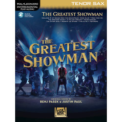 The Greatest Showman - Tenor Sax w/Online Audio