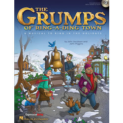 The Grumps of Ring-A-Ding Town - CD-ROM