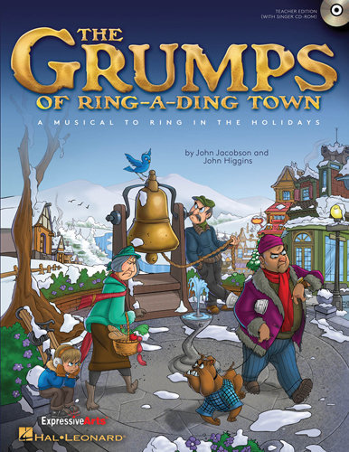 View larger image of The Grumps of Ring-A-Ding Town - Performance/Accomp CD