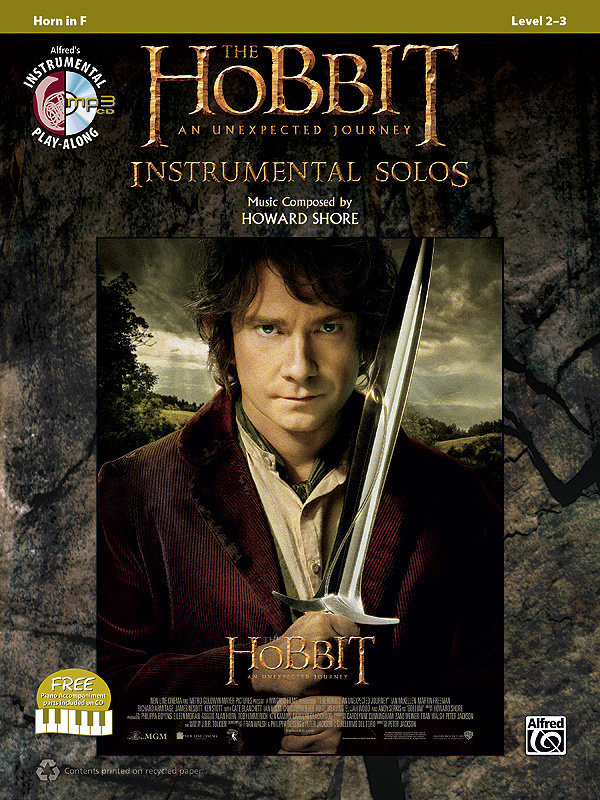 View larger image of The Hobbit: An Unexpected Journey Instrumental Solos - Horn