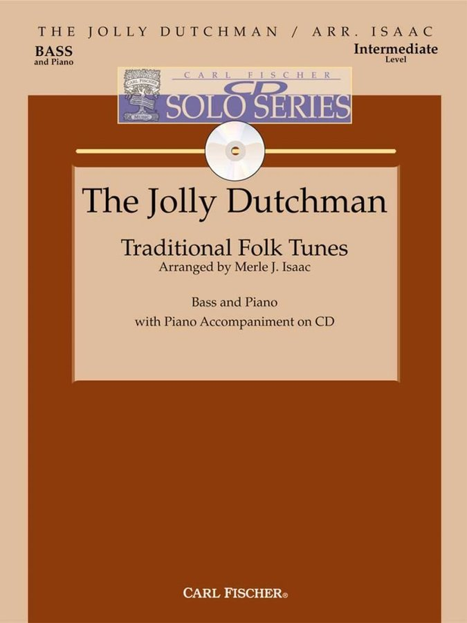 View larger image of The Jolly Dutchman (Issac) - Double Bass w/CD