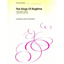 The Kings Of Ragtime - (Saxophone Quartet)