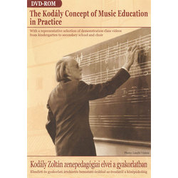 The Kodály Concept of Music Education in Practice - DVD-ROM