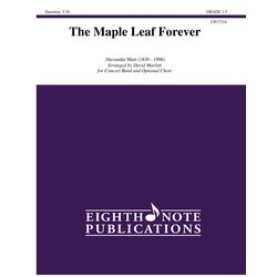 The Maple Leaf Forever - Score & Parts, Grade 1.5