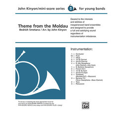 The Moldau (Theme) - Score & Parts, Grade 1