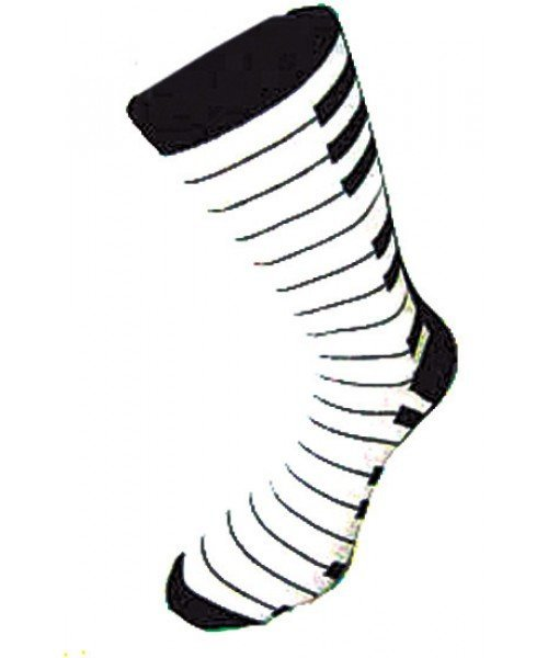 View larger image of The Music Gifts Keyboard Socks