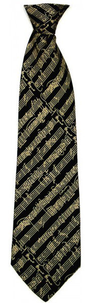View larger image of The Music Gifts Tie with Manuscript Design
