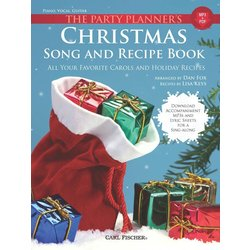 The Party Planner's Christmas Song and Recipe Book