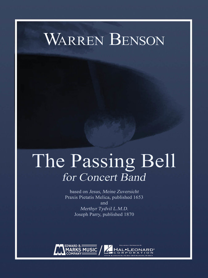 View larger image of The Passing Bell - Score & Parts, Grade 5