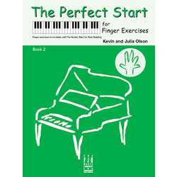 The Perfect Start for Finger Exercises - Book 2
