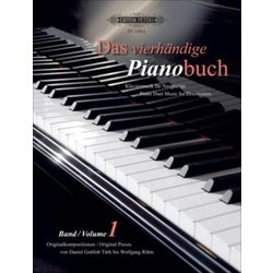 The Piano Duet Book Vol.1 (1P4H)