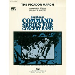 The Picador March - Score & Parts, Grade 2.5