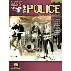 The Police - Bass Play-Along Volume 20 w/Online Audio