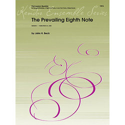 The Prevailing Eighth Note - Percussion Quartet